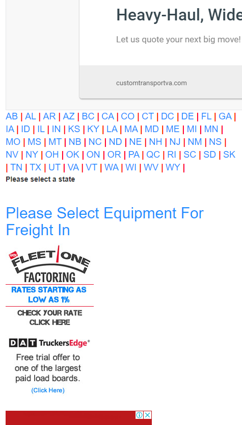 free load boards for flatbed